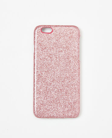 Coque glitter compatible Iphone 6/6S rose