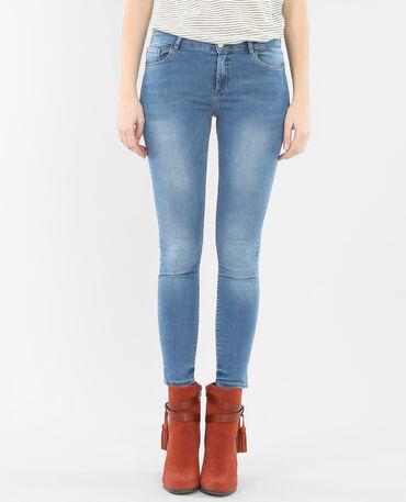 7/8-Skinny-Jeans Denimblau