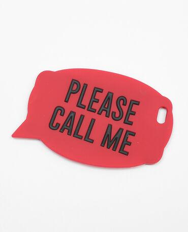 Schale für I-Phone 6 mit Sprechblase rot