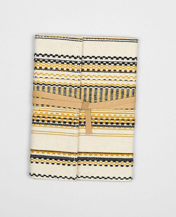 Notebook jacquard bronze