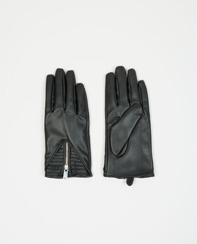 Guantes biker negro