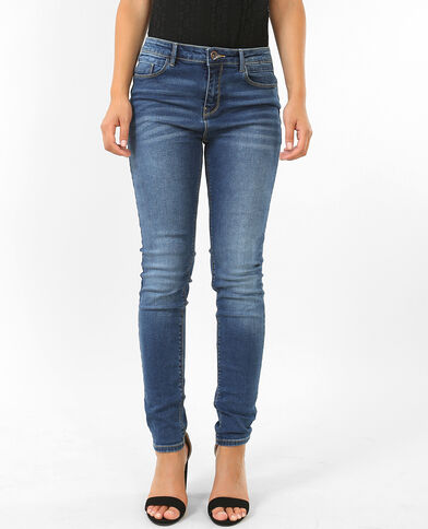 Skinny push up bleu denim