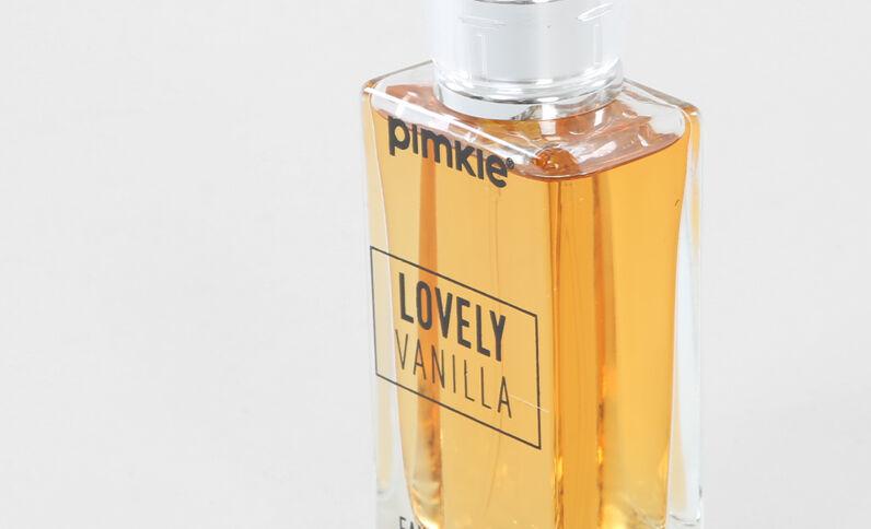 Perfume de vainilla amarillo