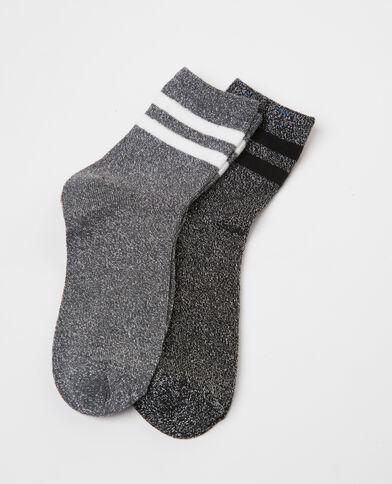 Socken im 2er-Pack Schwarz