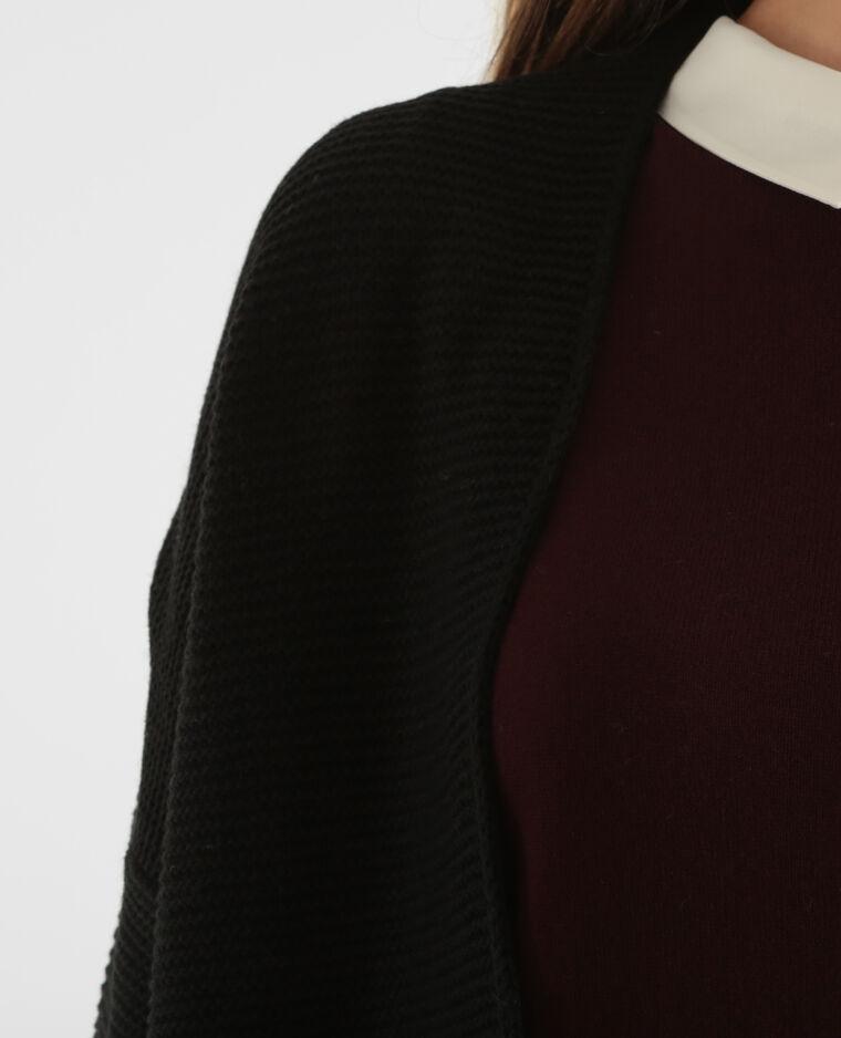 Chaqueta media-larga negro