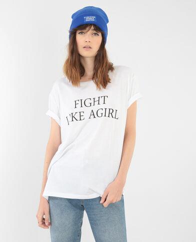 T-shirt collezione limitata bianco