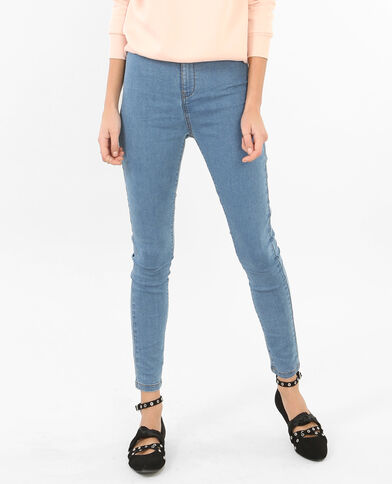 Jeggings mit hoher Taille Blau
