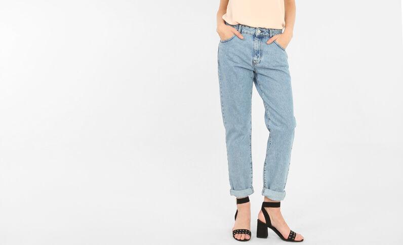 Mom-Jeans Blau