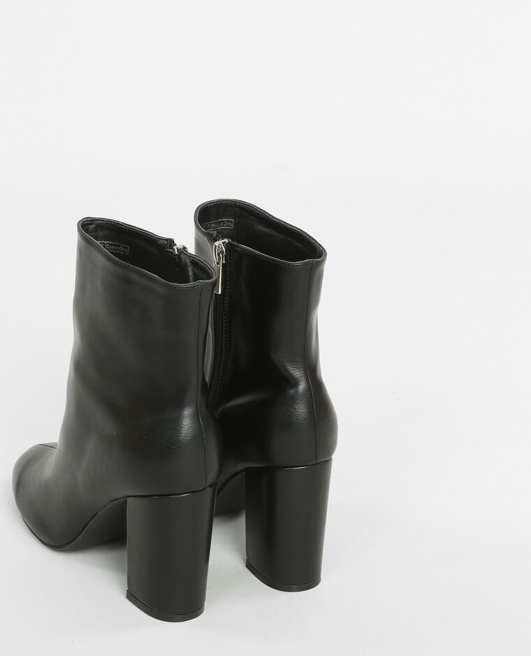 boots mit absatz schwarz 986144899a08 pimkie. Black Bedroom Furniture Sets. Home Design Ideas