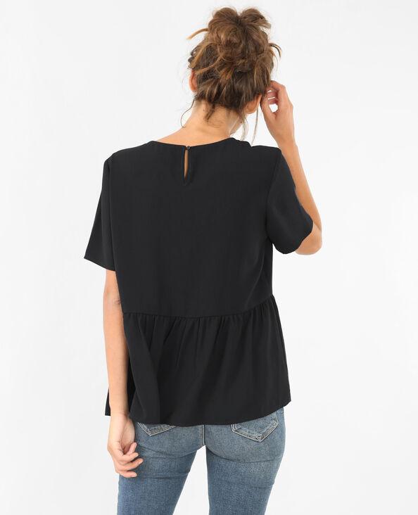 Blusa ancha negro