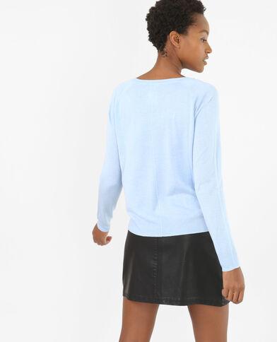 Jersey básico ligero azul celeste