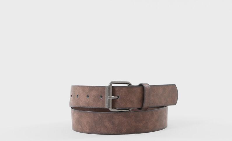 Cinturón mujer marrón claro
