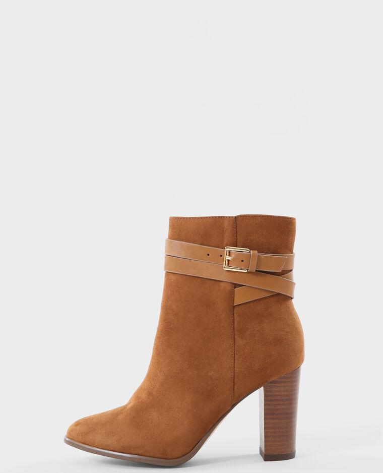 boots talon carr marron marron 986095747a07 pimkie. Black Bedroom Furniture Sets. Home Design Ideas