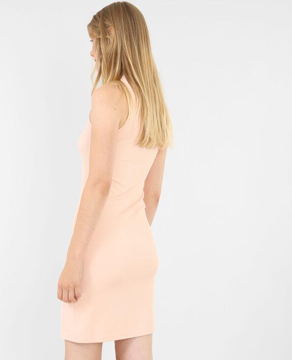 Figurbetontes Kleid Rosa