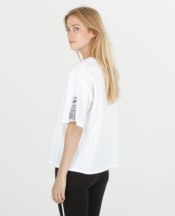 Sportliches T-Shirt Weiß