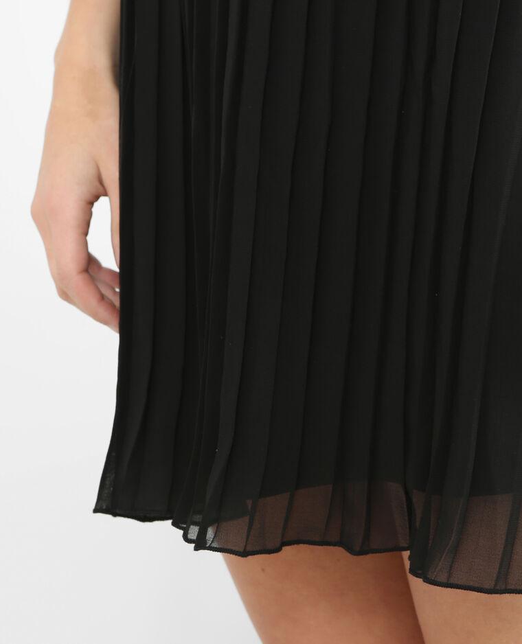 robe pliss e noir 780392899a08 pimkie. Black Bedroom Furniture Sets. Home Design Ideas