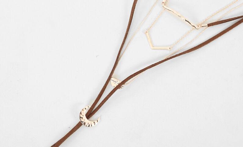 Set aus 3 Halsketten Gold