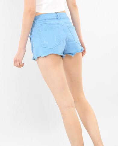 Short in jeans destroy blu