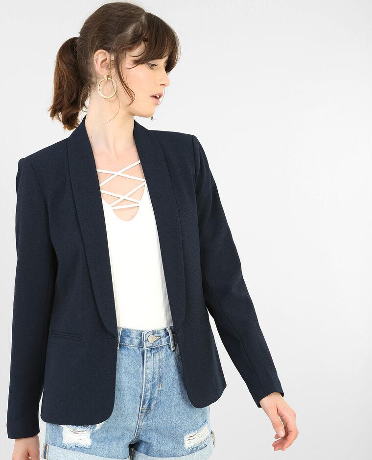 Veste blazer bleu marine