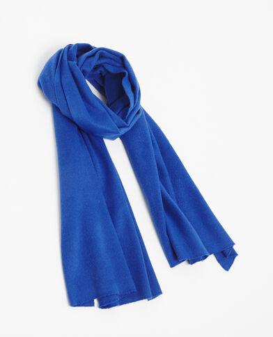 Weicher Schal Blau