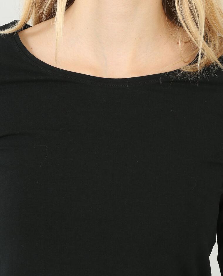 Camiseta básica negro
