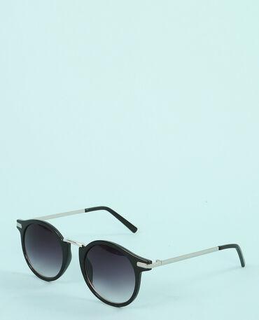 Gafas de sol retro negro