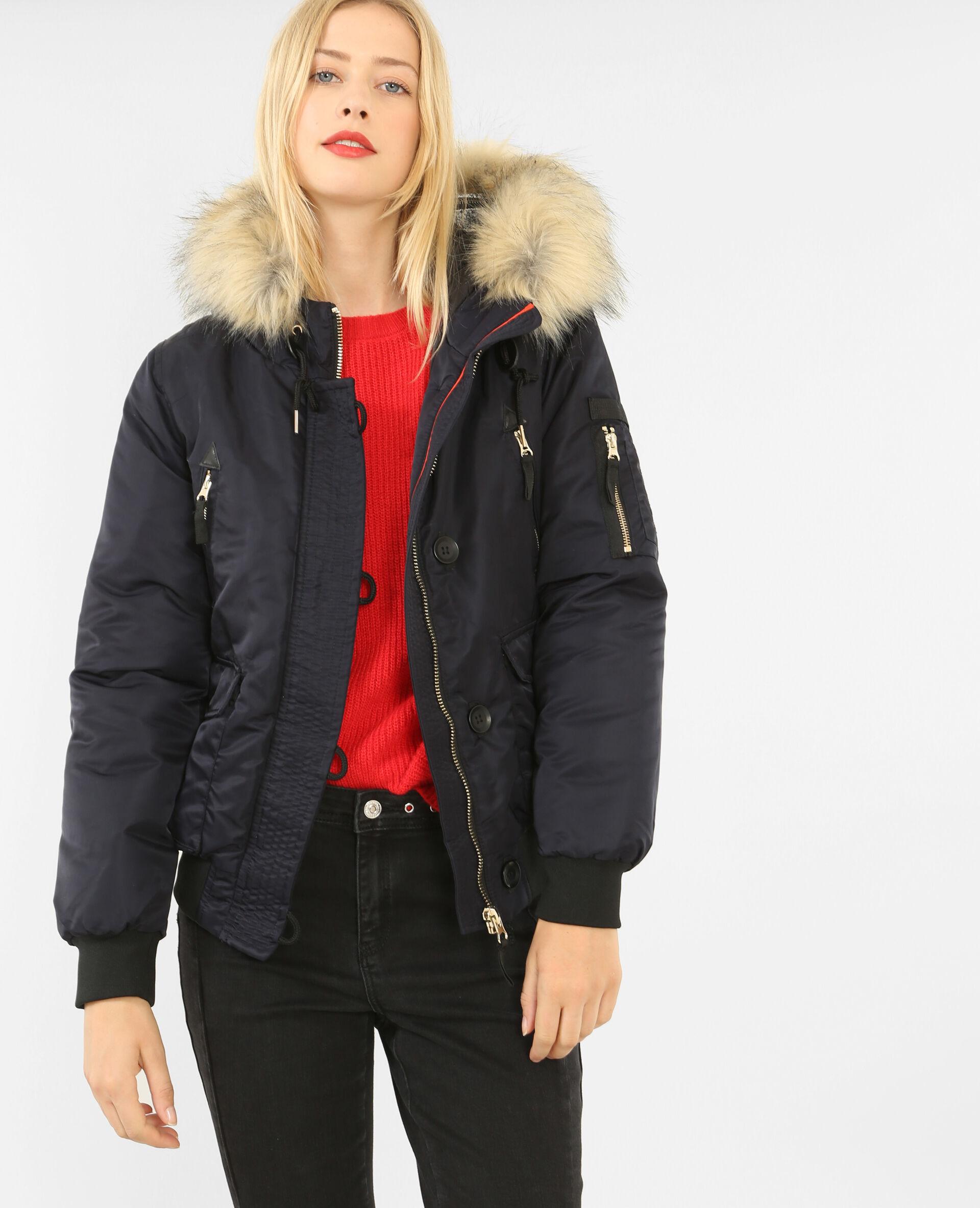 Manteau en bouclette h&m