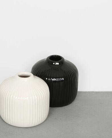 Petit vase soliflore noir