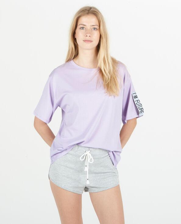 Sport-T-shirt violet