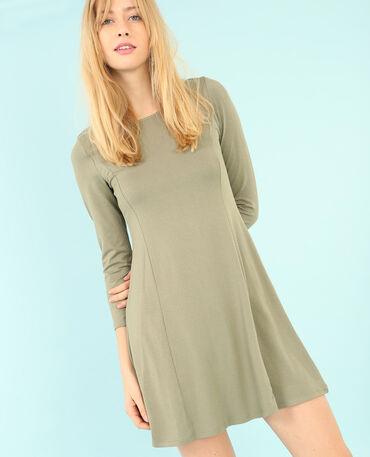 Trapez-Kleid Grün