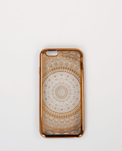 Custodia iPhone 6 bohème dorato