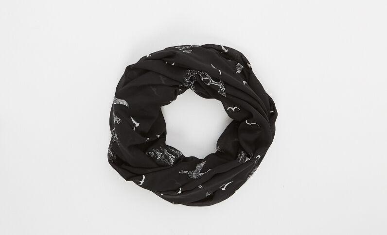 Snood fin noir