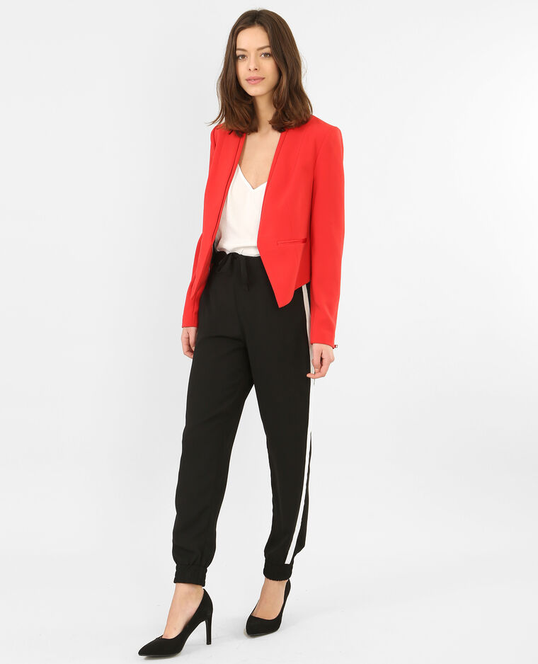 blazer court femme rouge 323122342a03 pimkie. Black Bedroom Furniture Sets. Home Design Ideas