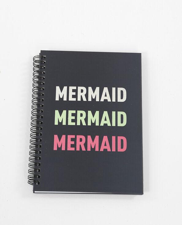 Notebook à spirales noir