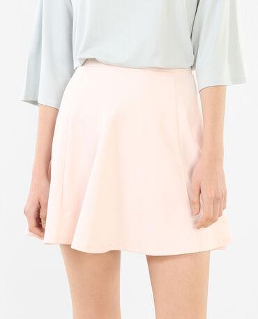 Minifalda de patinadora rosa