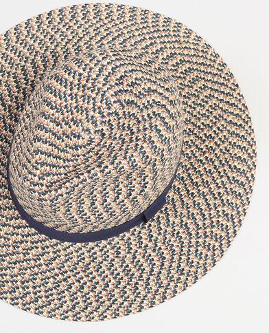 Chapeau style fedora gris