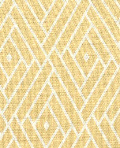 Housse de coussin losanges jaune