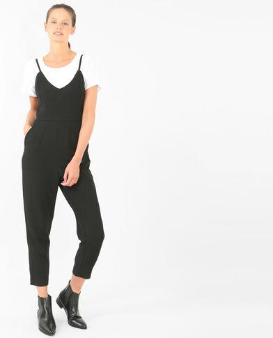 Combinaison-pantalon noir