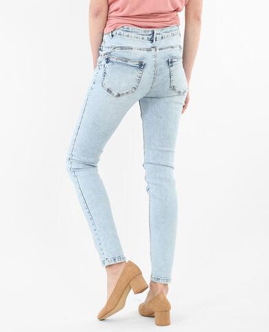 Jeans skinny push-up azul claro