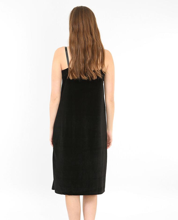 Robe velours noir 780557899a08 pimkie - Kleider pimkie ...