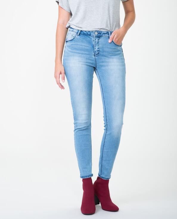 Push-up Skinny Jeans Blau