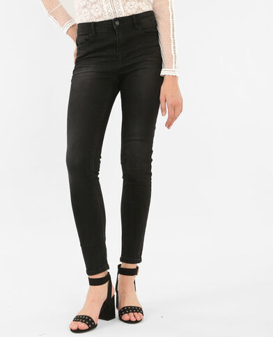 Jeans skinny push up nero