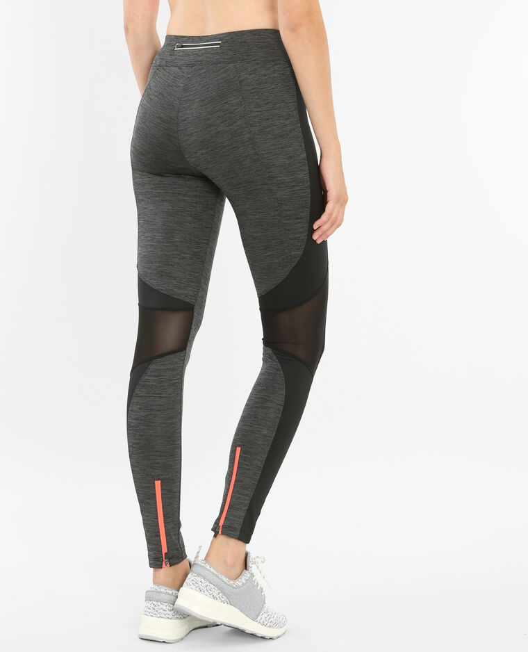 Sport-Leggings Grau