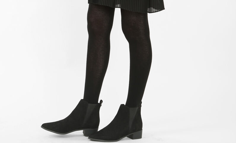 Collants chauds noir