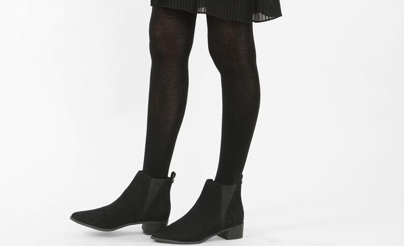 Warme panty's zwart