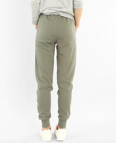 Pantalones de jogging verde