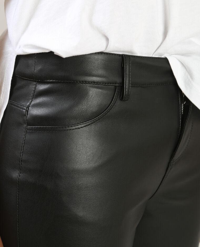 Pantaloni da biker nero
