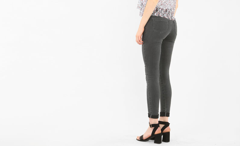 Jeggings vaqueros gris