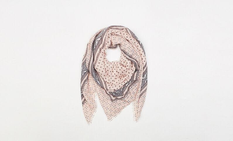 Halstuch mit Bandana-Motiv Rosa