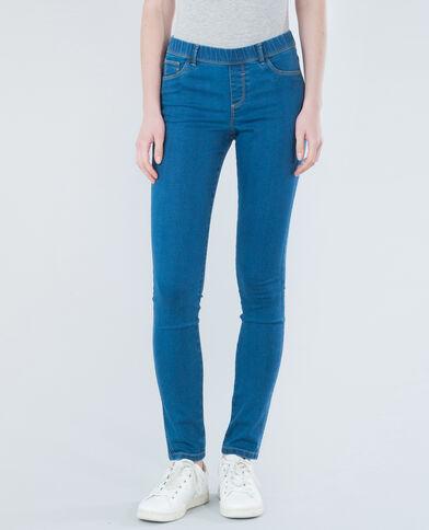 Jegging en jean bleu denim